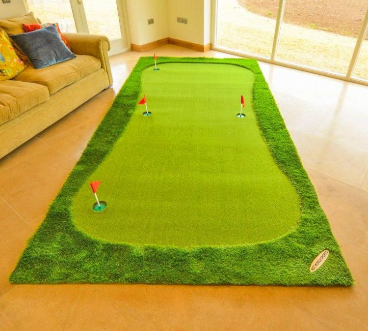 FORB Giant Golf Putting Mat For The Home - Giant putting green for practicing golf in the home or office