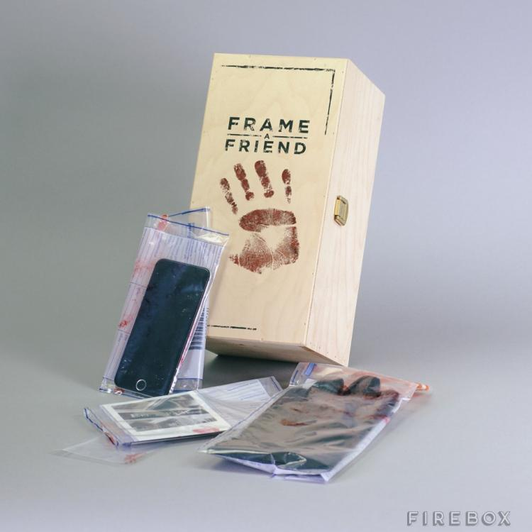 Frame-a-Friend Kit - Damning Crime Scene Evidence To Prank Friends