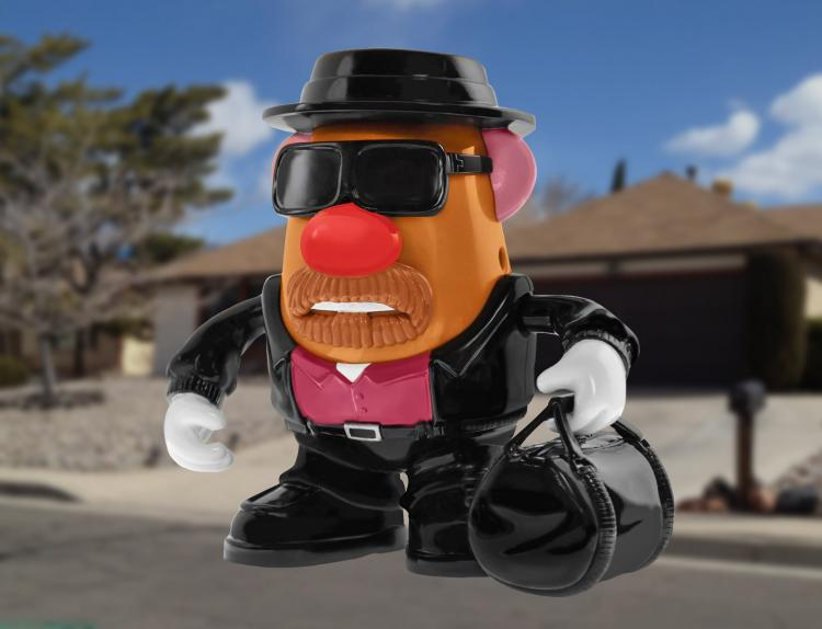 Breaking Bad Heisenberg Mr Potato Head Doll