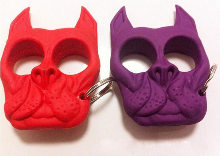 French Bulldog Self Defense Keychain
