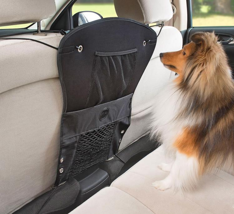 Front Seat Dog Barrier Keeps Your Pooch Out Of The Front Seat