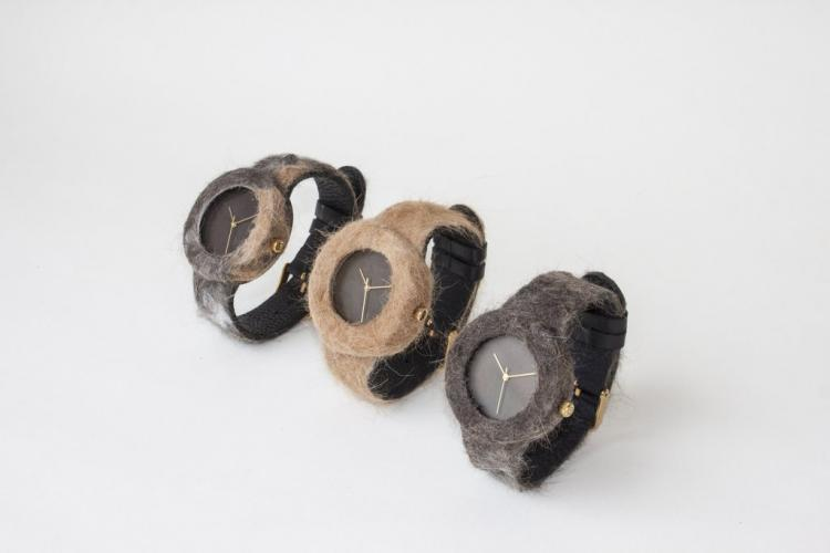 Fur Watch - Fur Watches Made from actual pet fur - send in your dog or cats fur for custom made fur watch