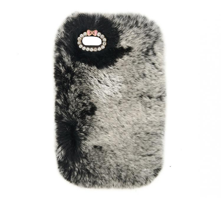 Fur iPhone Case - Grey