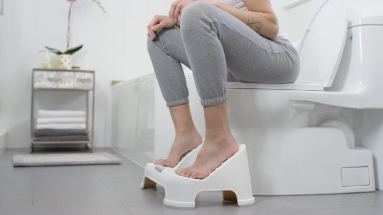 Turbo Fusion Squatting Toilet Stool Elevates Your Feet