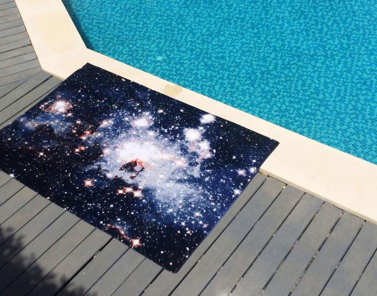 Galaxy Beach Towels