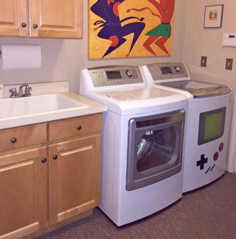 Game Boy Washer and Dryer Magnets