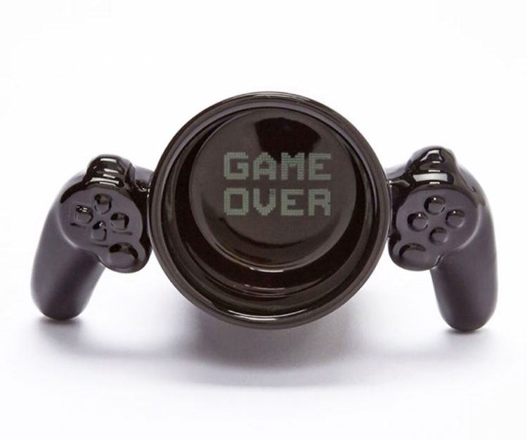 Game Over Mug - Game Controller Coffee Mug
