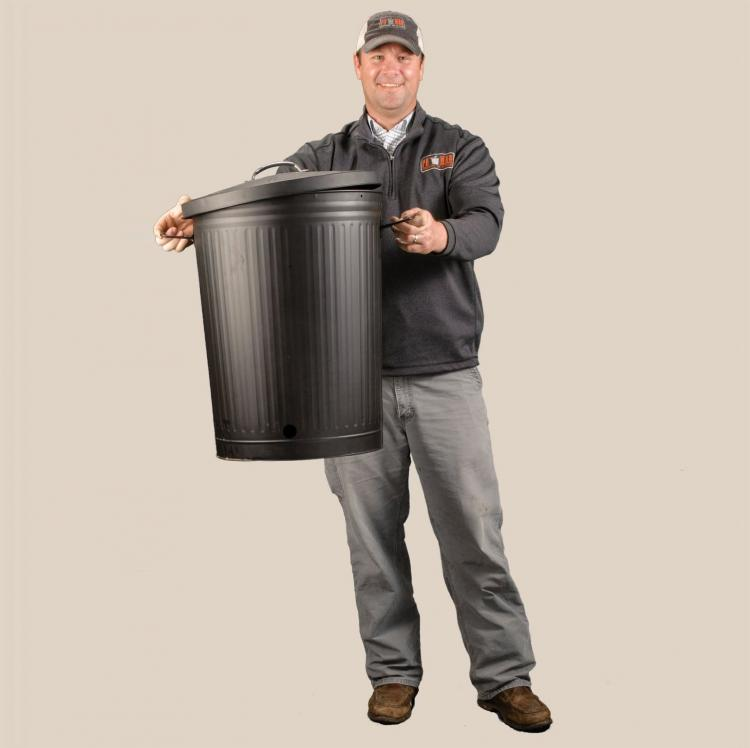 Trashcan BBQ Grill - Garbage Can Grill - Po' Man Charcoal Grill