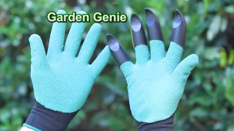 Garden Genie Gardening Gloves - Garden Gloves With Claws For Digging