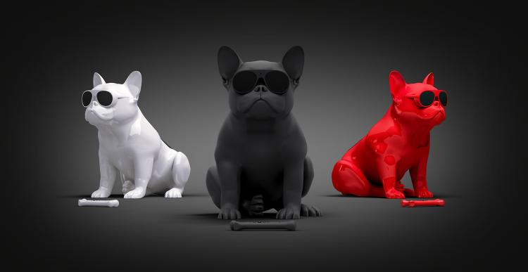 Full Body French Bulldog Speaker