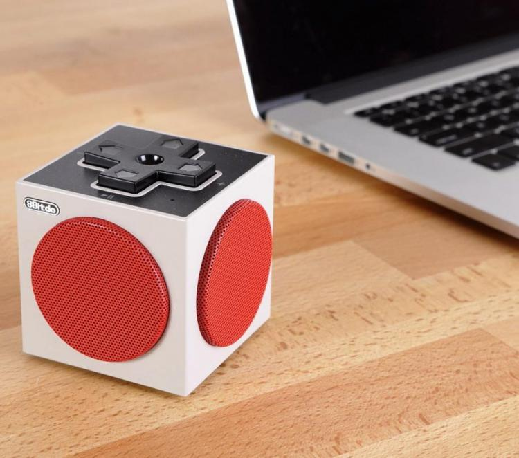This Cube Bluetooth Speaker Is Made To Look Like a NES Controller