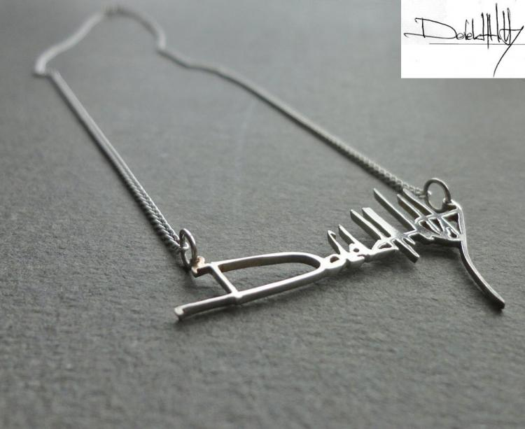 Signature as a Necklace