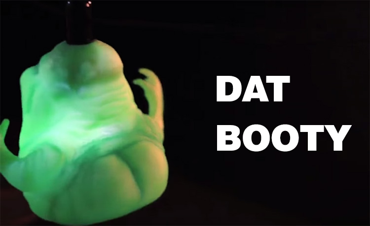 Ghostbusters Floating Slimer Halloween Decoration - DAT BOOTY