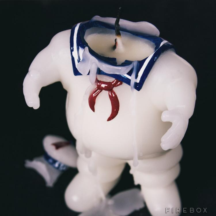 Ghostbusters Stay Puft Marshmallow Man Candle