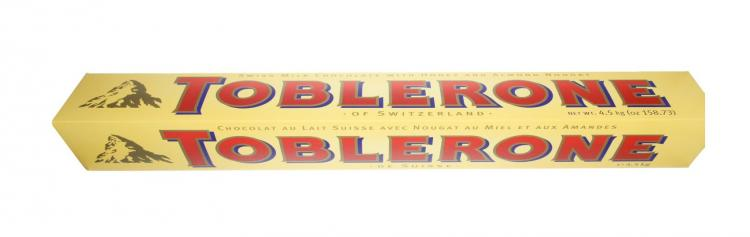 Giant Toblerone Bar - 10 Lbs - 3 Feet Long