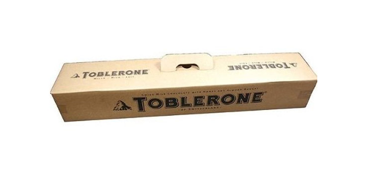 Giant Toblerone Bar - 10 Lb Candy Bar - 3 Feet Long Toblerone Bar