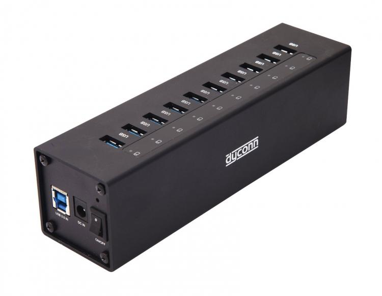 Giant Dyconn 12-port USB hub