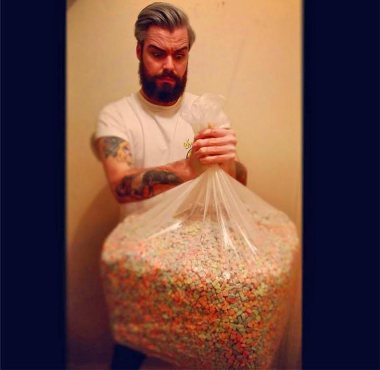 Giant Bag Of Lucky Charms Marshmallows (40 lbs)