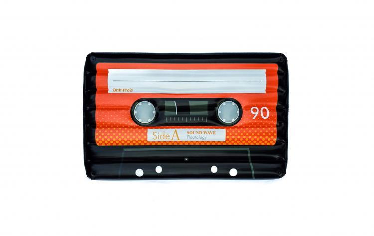 Giant Cassette Tape Pool Float - Retro Mix-Tape Inflatable Pool Float