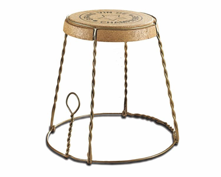 Giant Champagne Cork Stool