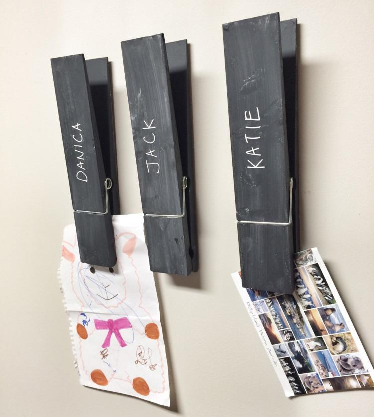 Giant Clothespins - Rustic Decor - Holds towels or photos