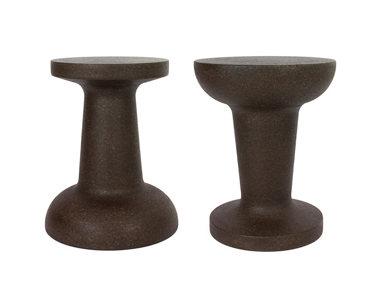 Giant Pushpin Cork Stool/Table - Dark