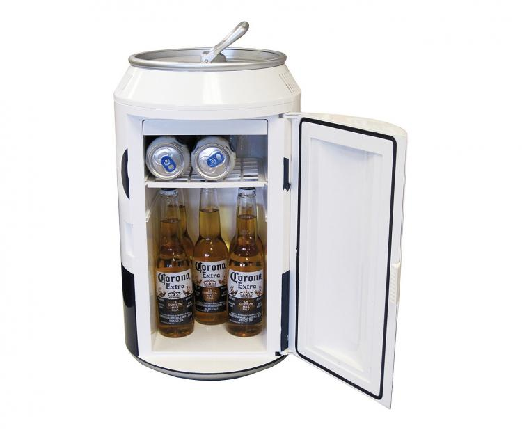 Giant Corona Can Mini Beer Fridge