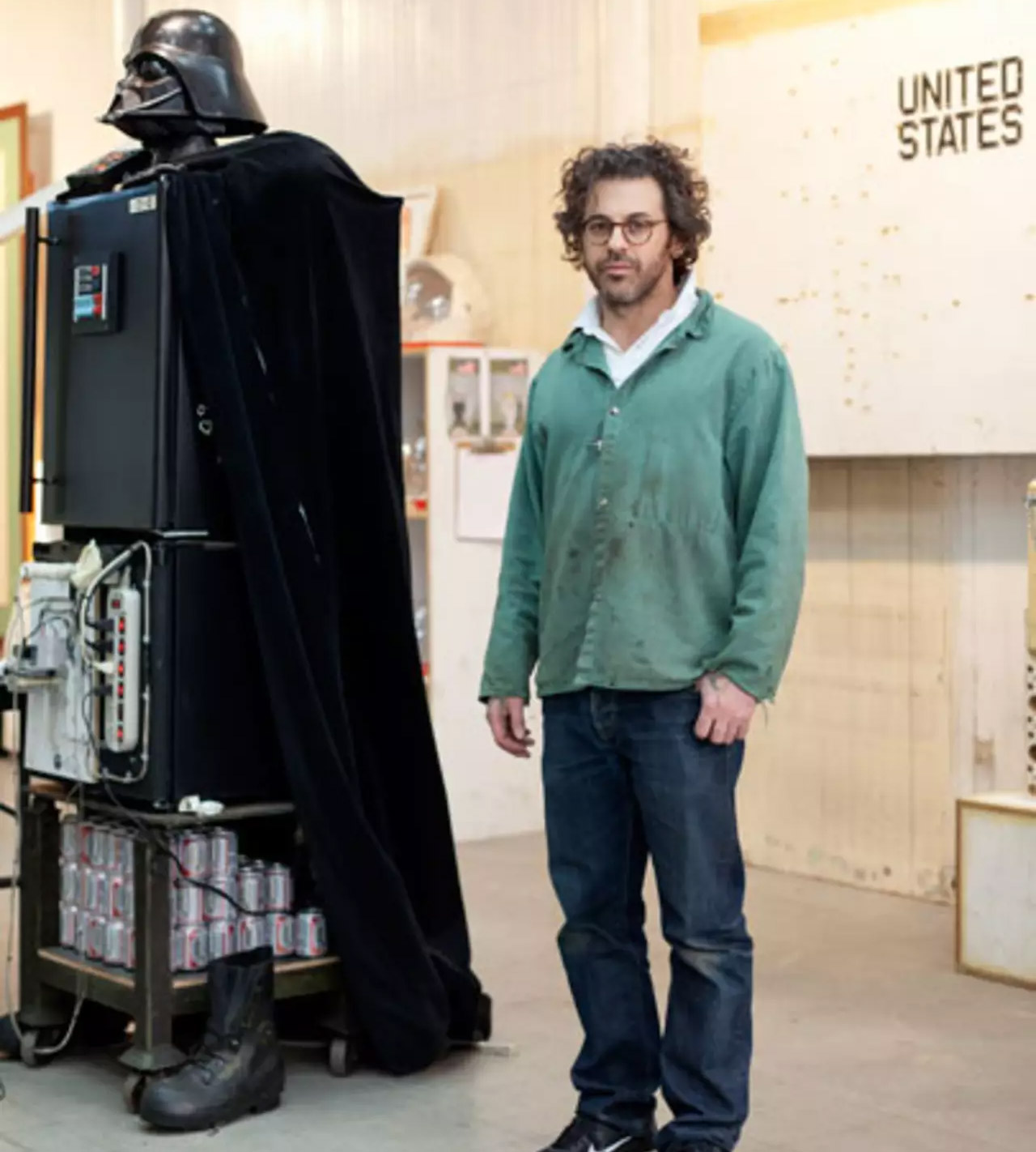 Luke I Am Your Refrigerator - Darth Vader Fridge and Vodka Fountain