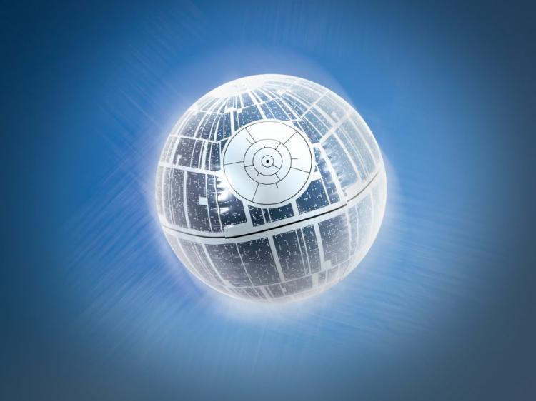 Giant Death Star Beach Ball That Lights Up With Each Bounce