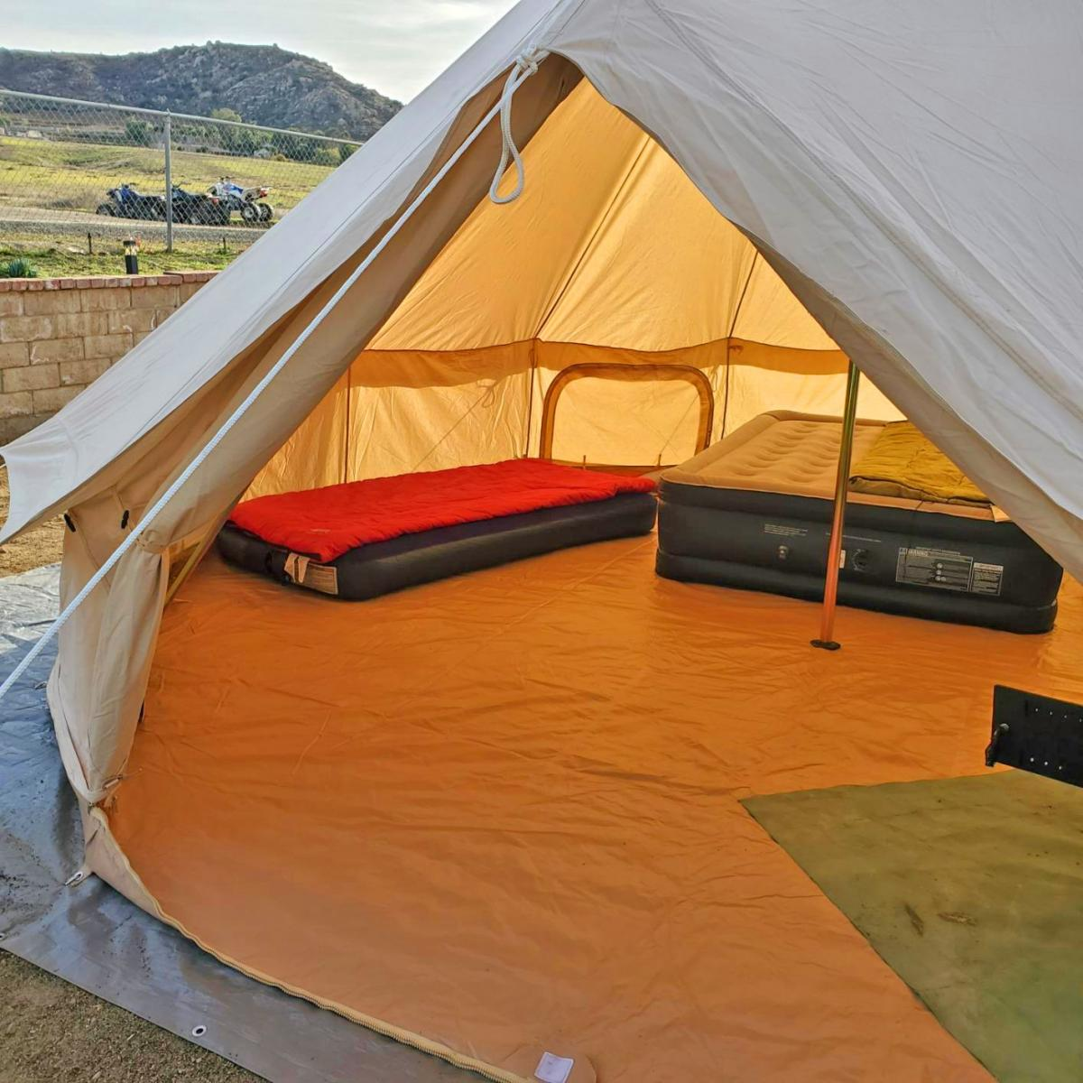 Official Glamping Tent - Boutique camping bell tent - Best music festival tent