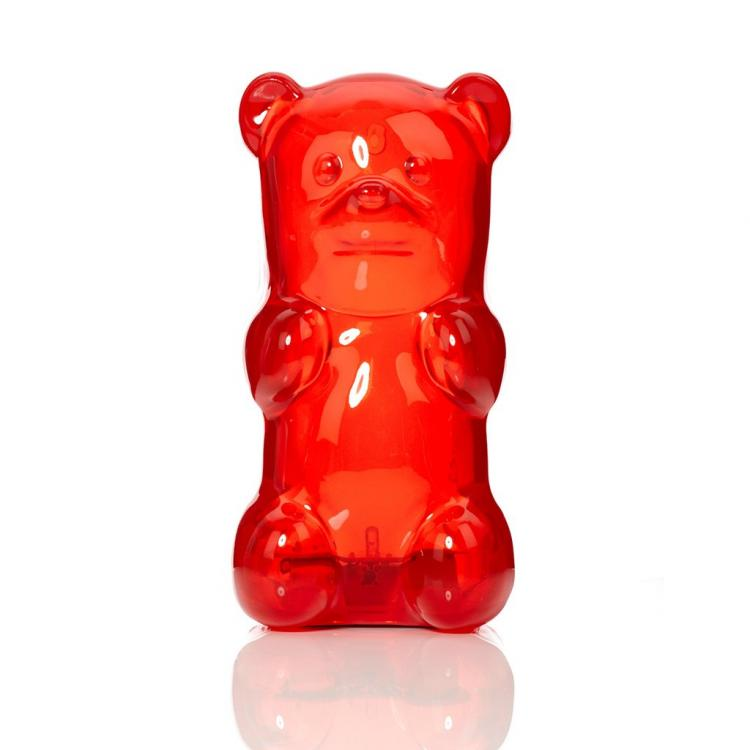 Giant Gummy Bear Night-Light - FCTRY Gummygoods gummy bear light - click belly of bear to turn on light