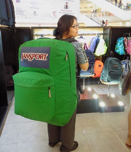 Giant Jansport Backpack