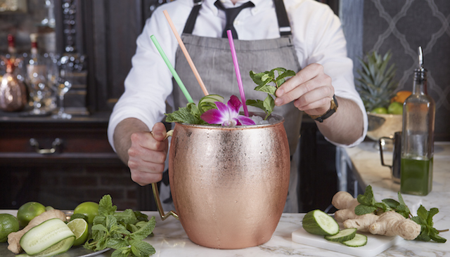Giant Moscow Mule Mug Holds 1.5 Gallons - Giant Copper Cocktail Mug