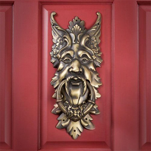 Oberon Solid Brass Door Knocker