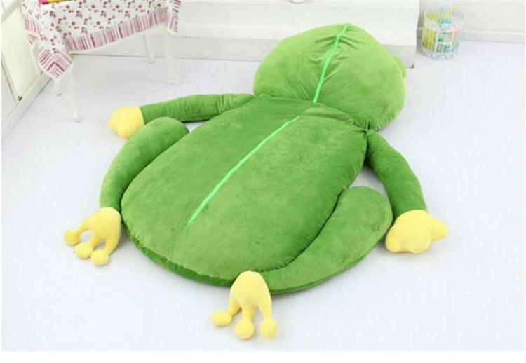 Giant Plush Frog Sleeping Bag Bed