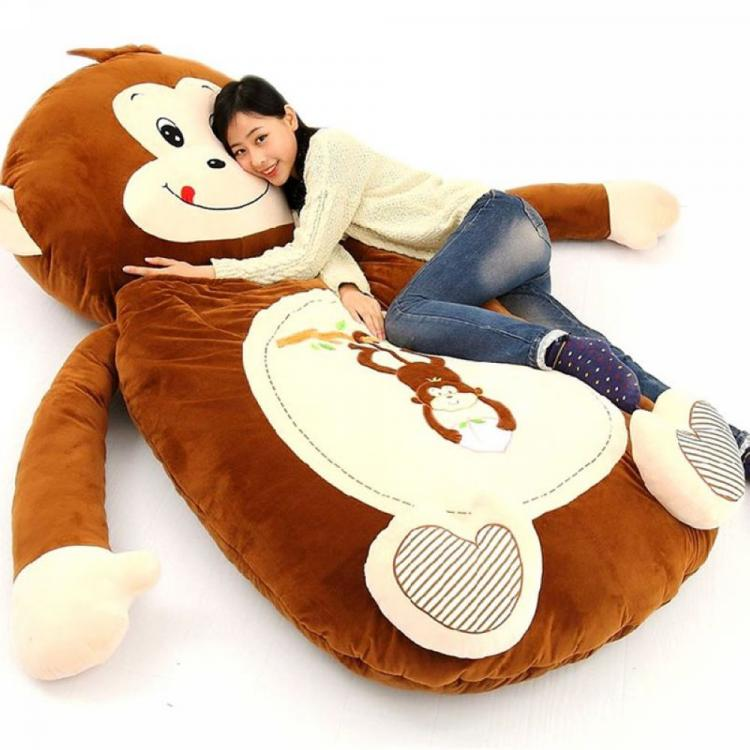Giant Plush Teddy Bear Sleeping Bag Bed