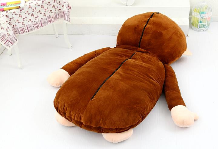 Giant Plush Monkey Sleeping Bag Bed