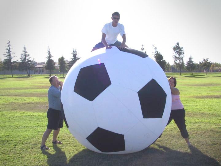 Giant Soccer Ball 6 Feet In Diameter