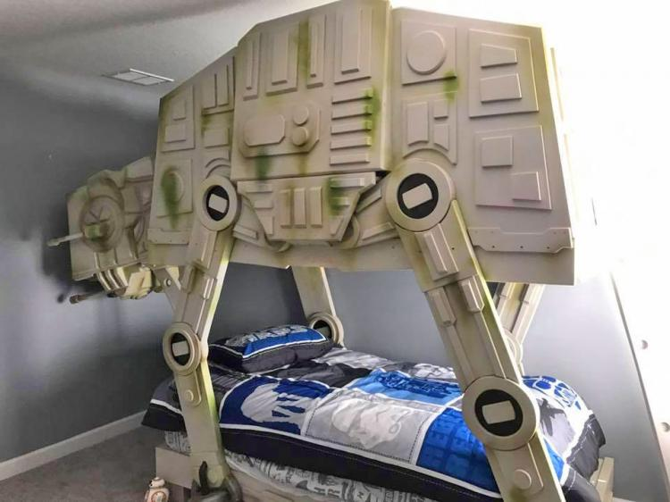 Giant Star Wars At At Walker Bed
