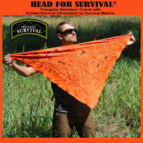 Giant Survival Bandana - Orange