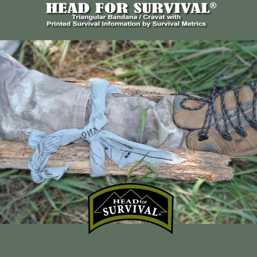 Giant Survival Bandana - Grey