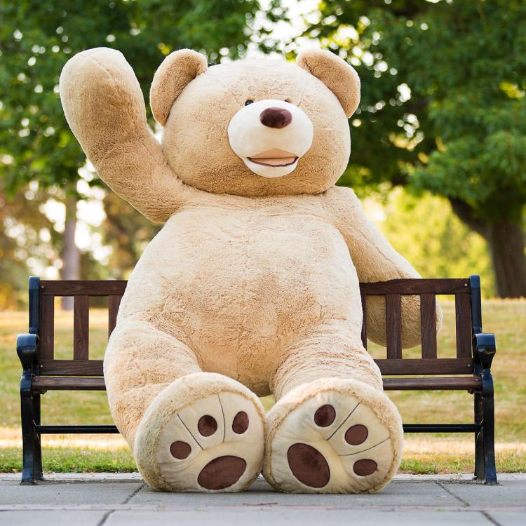 34fa1e35c9d3 Giant Teddy Bear - Huge 8 Foot Tall Teddy Bear - 93 Inch Stuffed Bear