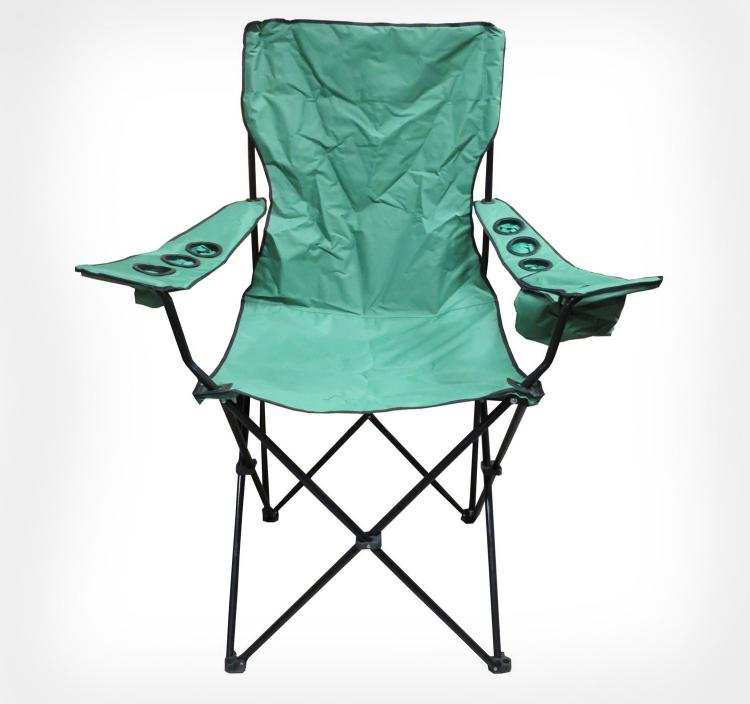 Giant Lawn Chair - Giant Travel Chair With 6 Cup Holders