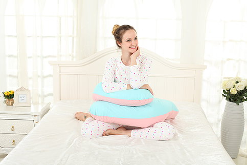 Giant U-Shaped Body Pillow - Cradling Pregnancy Pillow
