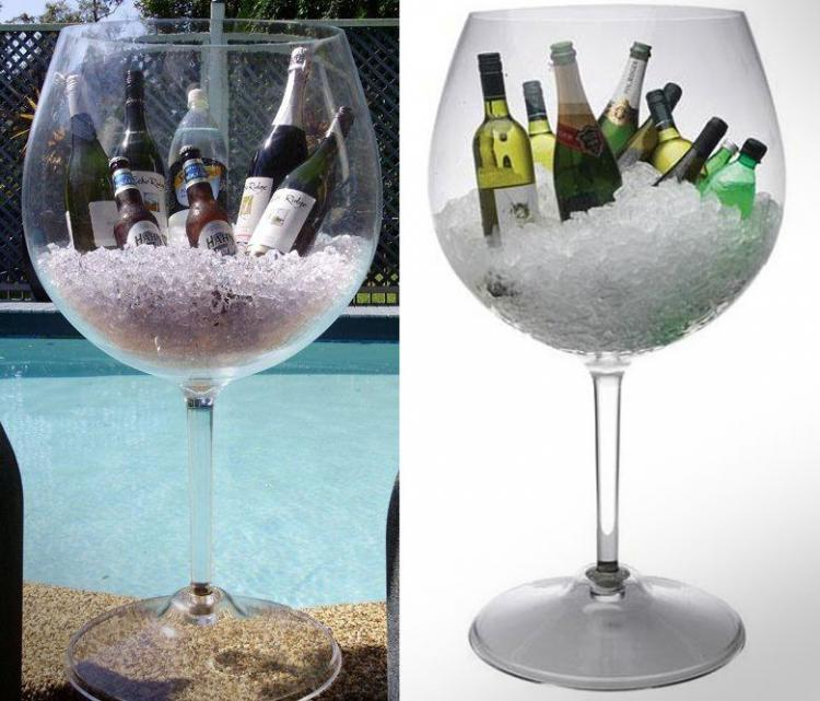 3 Foot Tall Plastic Wine Glass