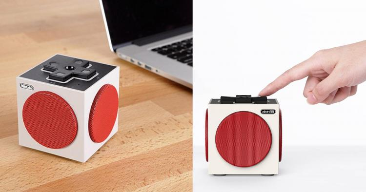 Cube Bluetooth Speaker Is Made To Look Like a NES Controller