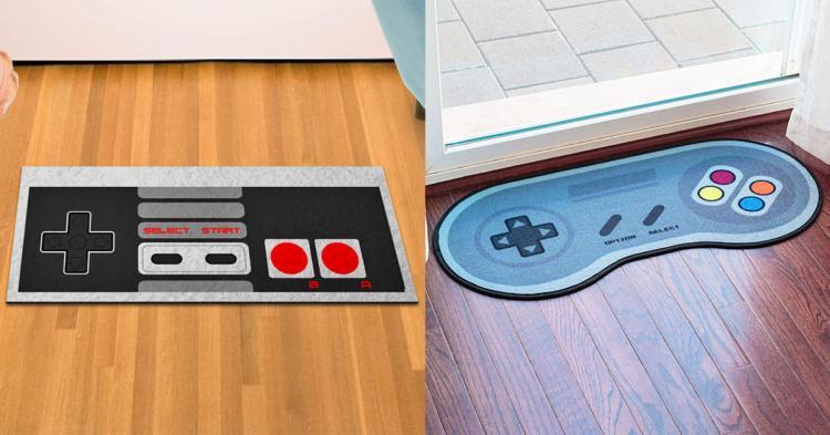 Retro Gaming Doormats (NES and SNES)