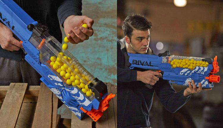 Nerf Mastadon: Fully Motorized 100 Ball Holding Nerf Gun