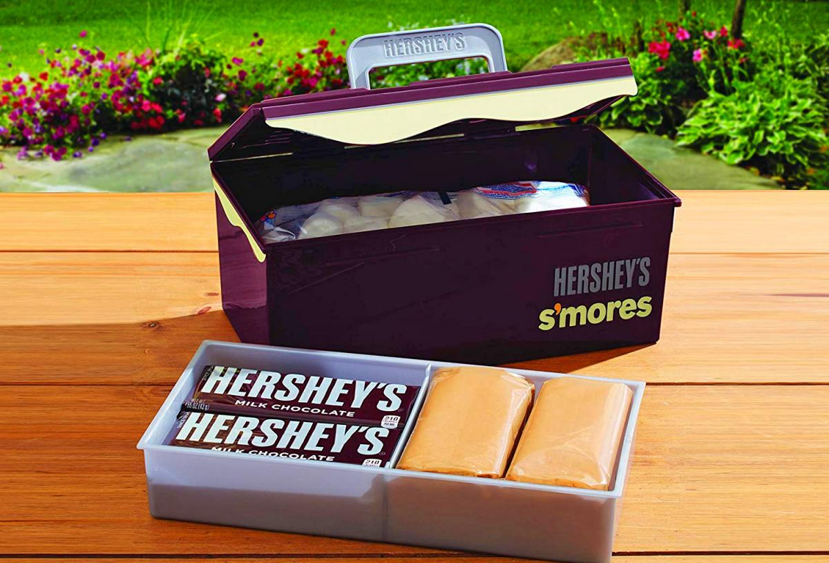 S'mores organizing caddy case - Best gift idea for s'mores lovers