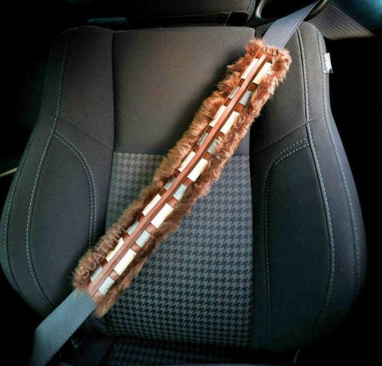 Chewbacca Bandolier Seat Belt Cover